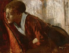 Melancholy Painting by Edgar Degas