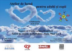 Atelierul de iarnă – seară de creație pentru adulți și copii