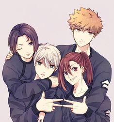 Blue Block, Artist, Anime Boys, Twitter, Anime Characters, Artists, Anime Guys