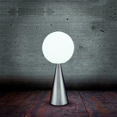GIO PONTI Rare Siluro standard lamp circa 1957 Chromium plated