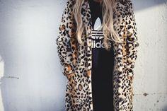 adidas | leopard print
