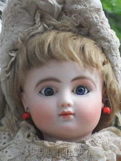~~~ Rare French Bisque BeBe Steiner with Rare Signed Sleep Eyes / Bourgouin ~~~
