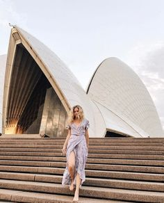 Running down the steps at the Sydney Opera House, Australia - via Live Like it's the Weekend on Instagram