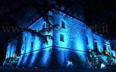 ALMA Project @ Castello il Palagio - Lighting - Castle blue 2
