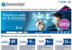 Hoswedaje #Eurekas! Alojamiento Web profesional, servidores virtuales, posicionamiento web y registro de dominios