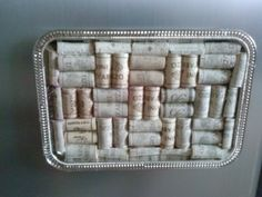 Custom wine cork cork board by thisisourname on Etsy, $12.00
