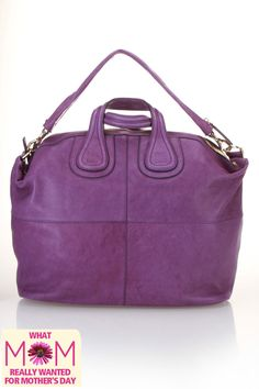 Purple Satchel
