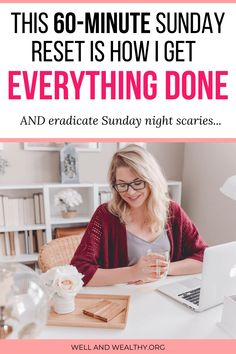 The 60 Minute Sunday Reset Routine to Help You Win the Week [Plus FREE Sunday Reset Worksheet] - Then you need a Sunday reset routine! This reset will have to ready for the week ahead. Marketing Online, Marketing Digital, Make Money Online, How To Make Money, Facebook Engagement Posts, Sunday Routine, You Better Work, Get Your Life, Time Management Tips