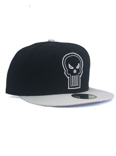194e6fe6beeb9 Marvel Comics New Era The Punisher Custom Fitted Hat. Produced exclusively  by New Era in Size 7 A raised and embroidered Punisher Skull logo on the  back.