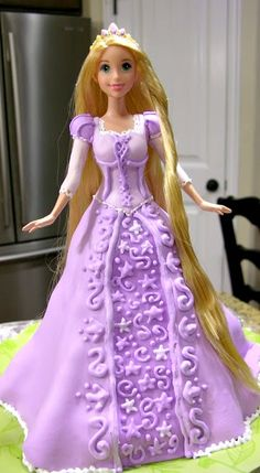 Rapunzel Cake ~ and how to make it