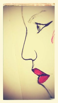 Lipstick. skecth 5 #Beginner