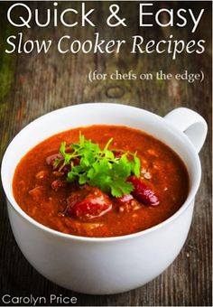 FREE e-Cookbook: Quick & Easy Slow Cooker Recipes {+ 13 More Slow Cooker Recipes} #crockpot #recipes