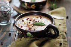 Dukan Diet, Acai Bowl, Soup Recipes, Low Carb, Pudding, Breakfast, Desserts, Food, Acai Berry Bowl