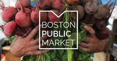 The Boston Public Market is a permanent, year-round, self-sustaining market featuring fresh, locally-sourced food brought directly to and from the diverse people that make up Massachusetts and New England.
