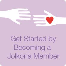 Sign up to be Jolkona Member and make a difference today!