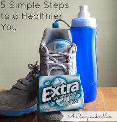 A Conquered Mess: 5 Simple Steps to a Healthier You Found on the Moxie Thursday Link Up