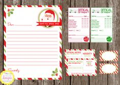 your Elf On The Shelf tradition! North Pole Stationary ($2.50), Elf ...