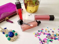 Jouer Moisturizing Lip Gloss in Monaco, Pink Glace and Sorbet