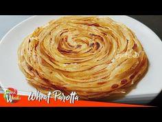 Wheat Parotta   Parotta Recipe   Soft Layered Wheat Parotta   How To Make Wheat Parotta   Foodworks - YouTube Whole Grain Flour, Paratha Recipes, India Food, Grain Foods, Flour Recipes, Dinner Rolls, Indian Food Recipes, Breakfast Recipes, Appetizers