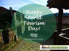 A Great #WorldTourismDay for All!  www.greenstays.pt