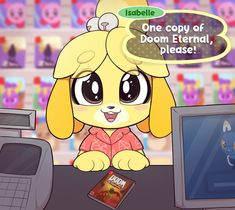 See more 'One Copy of Doom Eternal / Animal Crossing: New Horizons, Please' images on Know Your Meme! Animal Crossing Fan Art, Animal Crossing Memes, Animal Crossing Characters, Games Stop, V Games, Arcade Games, Star Fox, Gamer Humor, Gaming Memes