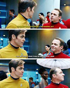 Star Trek Beyond | Deleted scene - Kirk & Scotty
