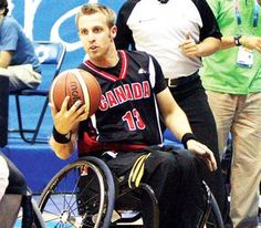 Brandon Wagner '10: Competing in 2012 Paralympic Games as part of Canada's men's Wheelchair Basketball team