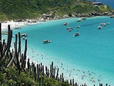 Arraial do Cabo, Rio de Janeiro, Brazil | Prainhas do Pontal: Mar com águas geladas, mas cristalinas e com diversificada vida marinha, próprias para mergulho.