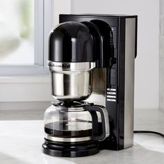 Free Shipping. Shop KitchenAid ® Pour Over Coffee Brewer. Pour-over purists can now enjoy their preferred brew with the ultimate convenience of this high-style, high-performance coffee maker, the first automated brewer of its kind.