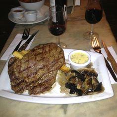 Steak & Chips, Troubadour, Earls Court.