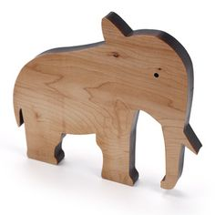 Wood Elephant Natural now featured on Fab.