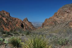 """""""The Window"""" Chisos Mountains, Big Bend National Park. Photography by: Tim Speer"""
