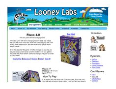 Looney Labs Donation Request - Raise funds with games donated by Looney Labs -  Fluxx 4.0 and Chrononauts provide hours of fun! Auction Basket Value $70.00