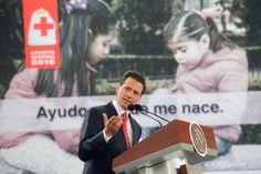 Inicio de la Colecta Nacional 2016 de la Cruz Roja Mexicana