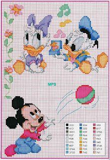 baby disney cross stitch