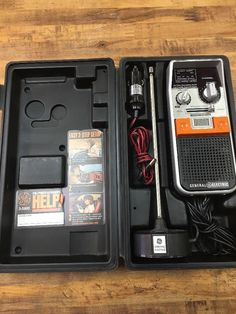 GE General Electric 3-5900 Emergency 40 Ch 2 Way CB Radio w/ Case Antenna  #GeneralElectric
