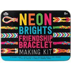 Neon Friendship Bracelet Kit