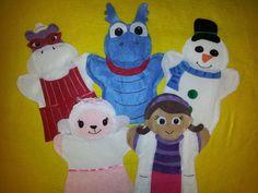 $24.99 Doc McStuffins Hand Puppets