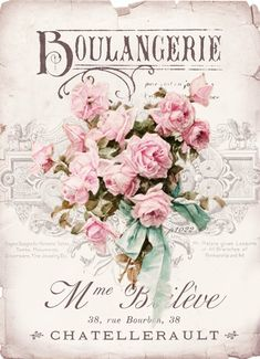 We've gathered our favorite ideas for Boulangerie Roses Digital Collage For Personal Use, Explore our list of popular images of Boulangerie Roses Digital Collage For Personal Use in decoupage collage. Floral Vintage, Vintage Diy, Vintage Labels, Vintage Ephemera, Vintage Cards, Vintage Paper, Vintage Flowers, Vintage Prints, Vintage Style