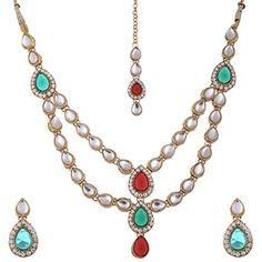 Red & Green Stone Bollywood Inspired Gold Plated Ethnic T... https://www.amazon.com/dp/B06XTHPWS3/ref=cm_sw_r_pi_dp_x_DTH3ybHN6AWG3
