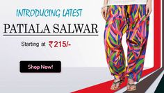 Branded Patiala salwar online in India.. Click to know more http://hytrend.com/women/clothing/patiala-salwar.html or call 011-4232-8888