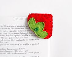 Colorful cute felt keychains decorations and by InspirationalGecko