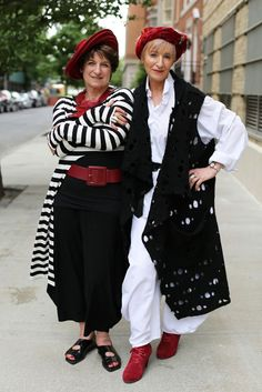 ADVANCED STYLE- Style twins