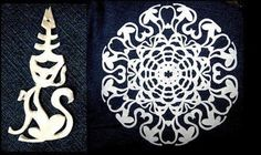Creative Ideas - DIY Beautiful Paper Snowflakes from Templates | i