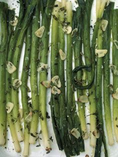 Roast Leeks | Vegetables Recipes | Jamie Oliver Recipes. Sub red wine vinegar for apple cider vinegar