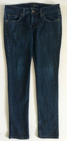 Levi's 524 Dark Wash Too Superlow Jeans-Juniors-Sz 5 Short #Levis #SlimSkinny