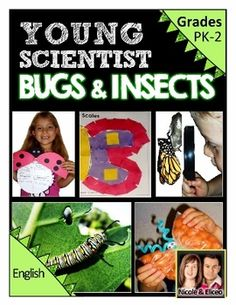 Fun life science unit all about insects and other creepy crawly creatures!