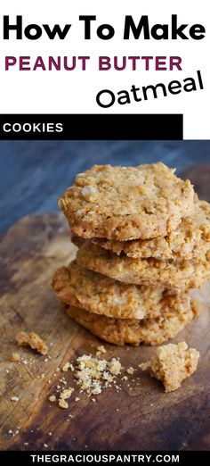 Butter Chocolate Chip Cookies, Peanut Butter Oatmeal, Peanut Butter Cookie Recipe, Natural Peanut Butter, Chocolate Peanut Butter, Oatmeal Cookie Recipes, Oatmeal Cookies, Cookie Calories, Coconut Sugar