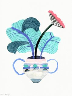 affiches botaniques - Laura Kientzler