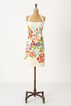 kitchen impressionism apron at #anthropologie for $32.00